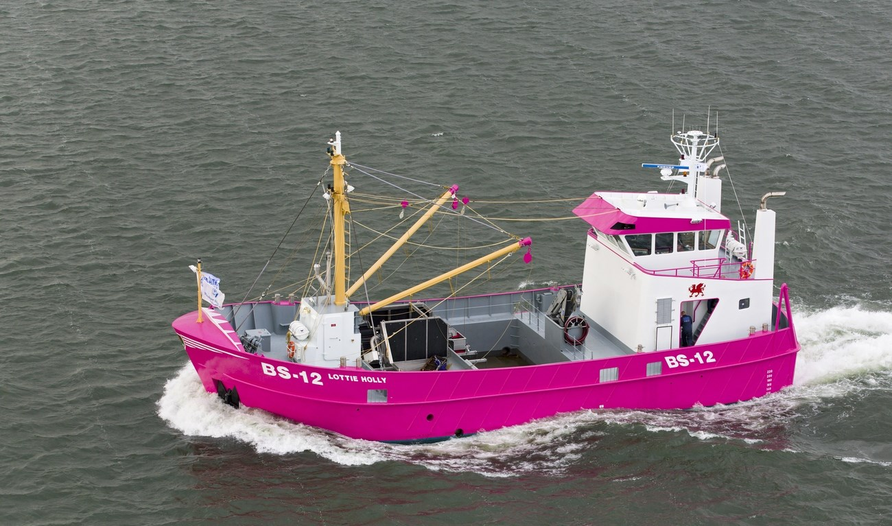 WELL-EQUIPPED LATEST MUSSEL DREDGER WILL DOUBTLESSLY TURN HEADS WHEREVER SHE GOES