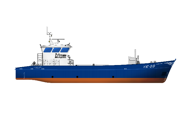An innovating oyster dredger 2908 with a fishing system for Commercial fishing boats for sale by owner