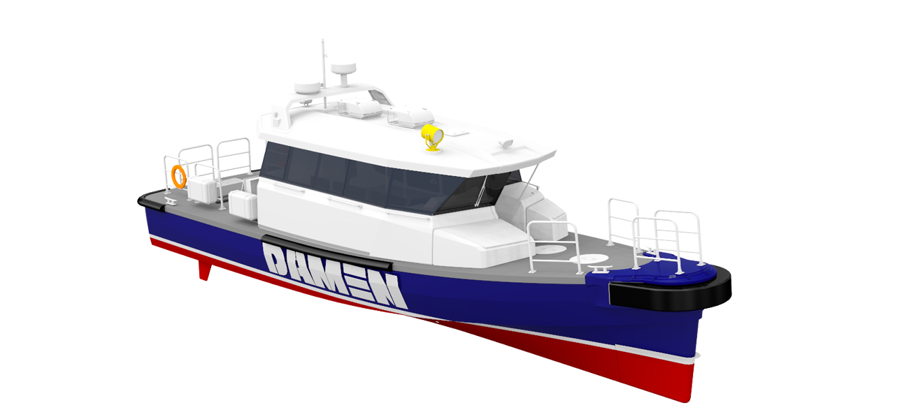 The combination of superior seakeeping and the position of the wheelhouse results in the highest possible level of operability