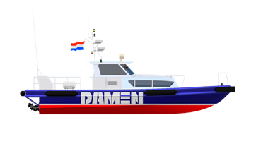 A popular and well-regarded workboat, over 100 are now in service in the offshore oil and gas industry