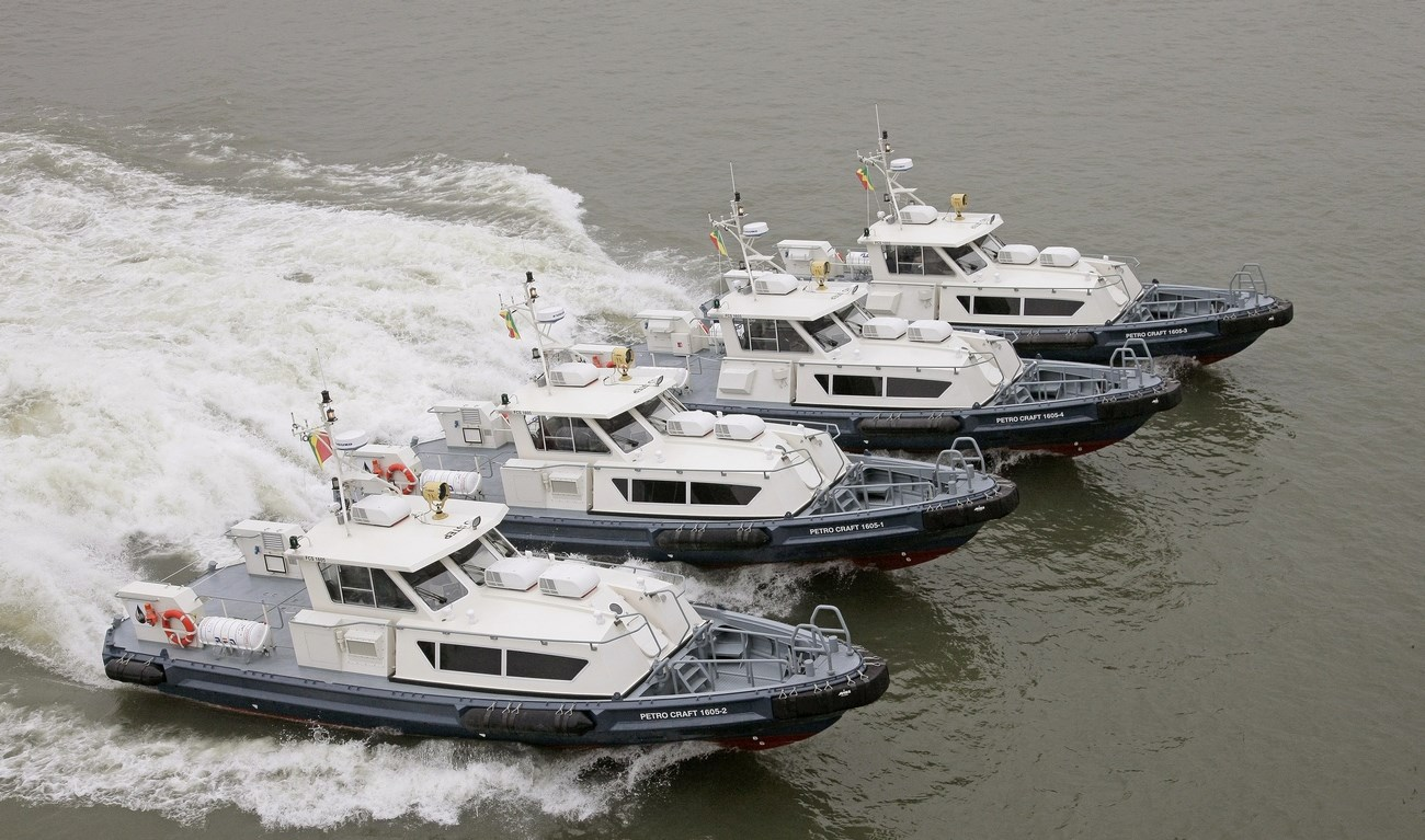 In February 2014 Petroserve Holding took delivery of four Damen Fast Crew Suppliers 1605 for Petro Services