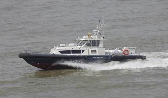 The vessel is fuel-efficient and has everything needed to fulfil all duties