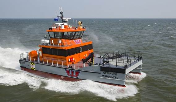 The FCS 2008 is a specialist in the provision of crew transfer vessels to the offshore wind industry