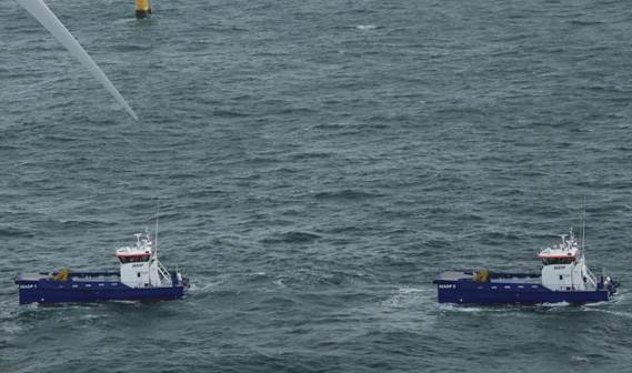 Both vessels were contracted to Damen Shipyards Gorinchem and were built in cooperation with Damen Shipyards Singapore