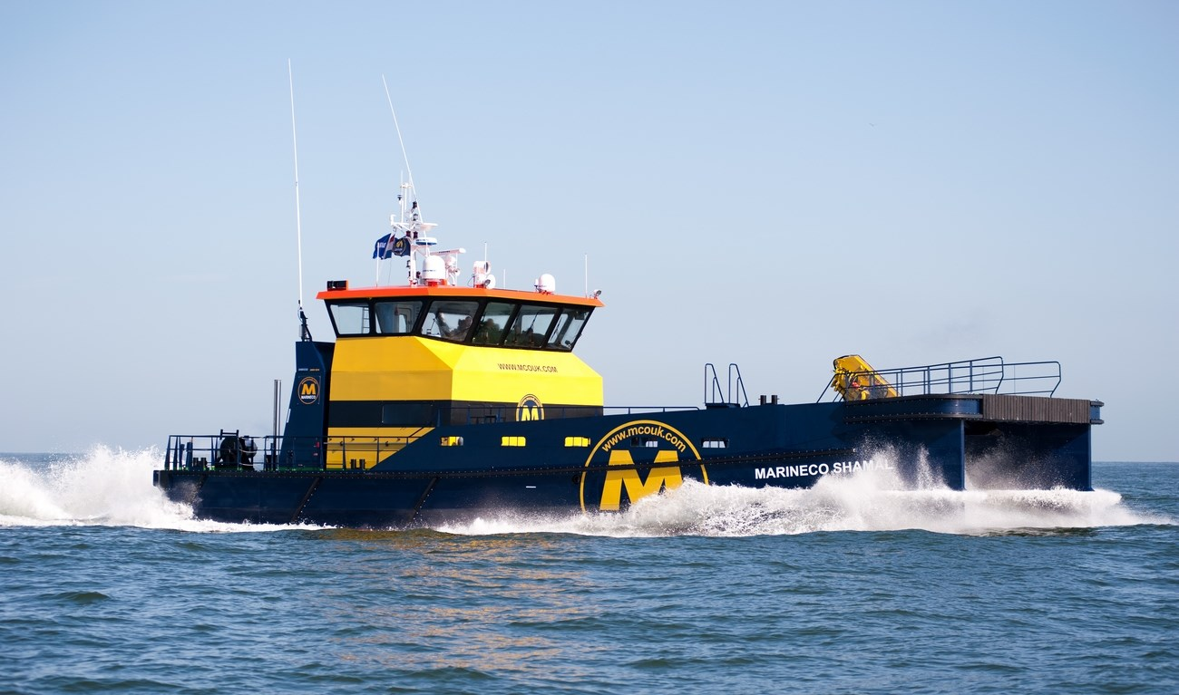 On June 9, 2011 MarineCo UK Ltd. took delivery of 'MarineCo Shamal', the first in a series of four