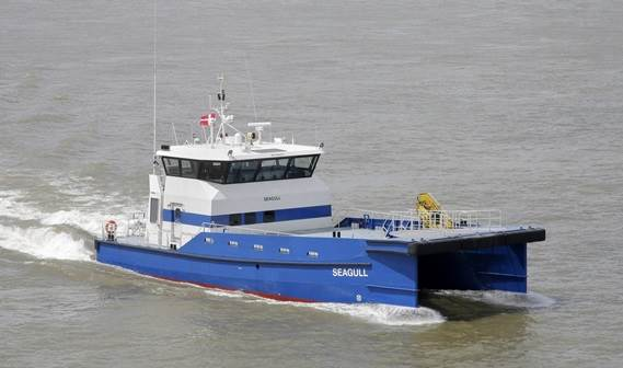 the Fast Crew Supplier 2610 'Seagull' was delivered to Sea Consult