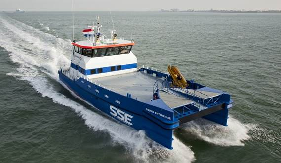 "the Damen Twin Axe Fast Crew Supplier 2610 has already established itself as ""The Industry Standard"" for the offshore wind market"