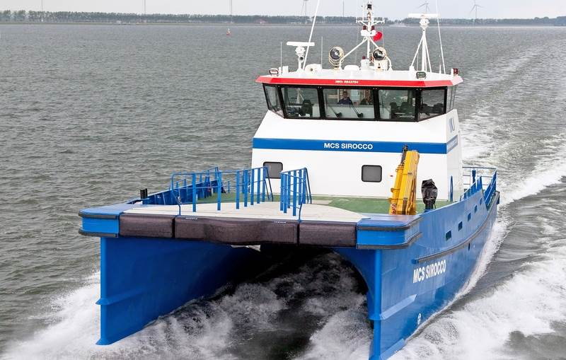 fast crew supply vessels in R&D deprtment