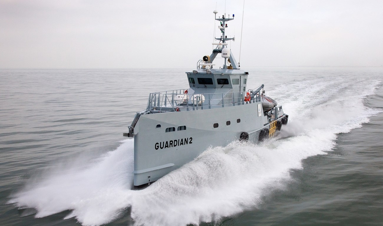 Homeland Integrated Offshore Services takes delivery of a second Damen FCS 3307 Patrol