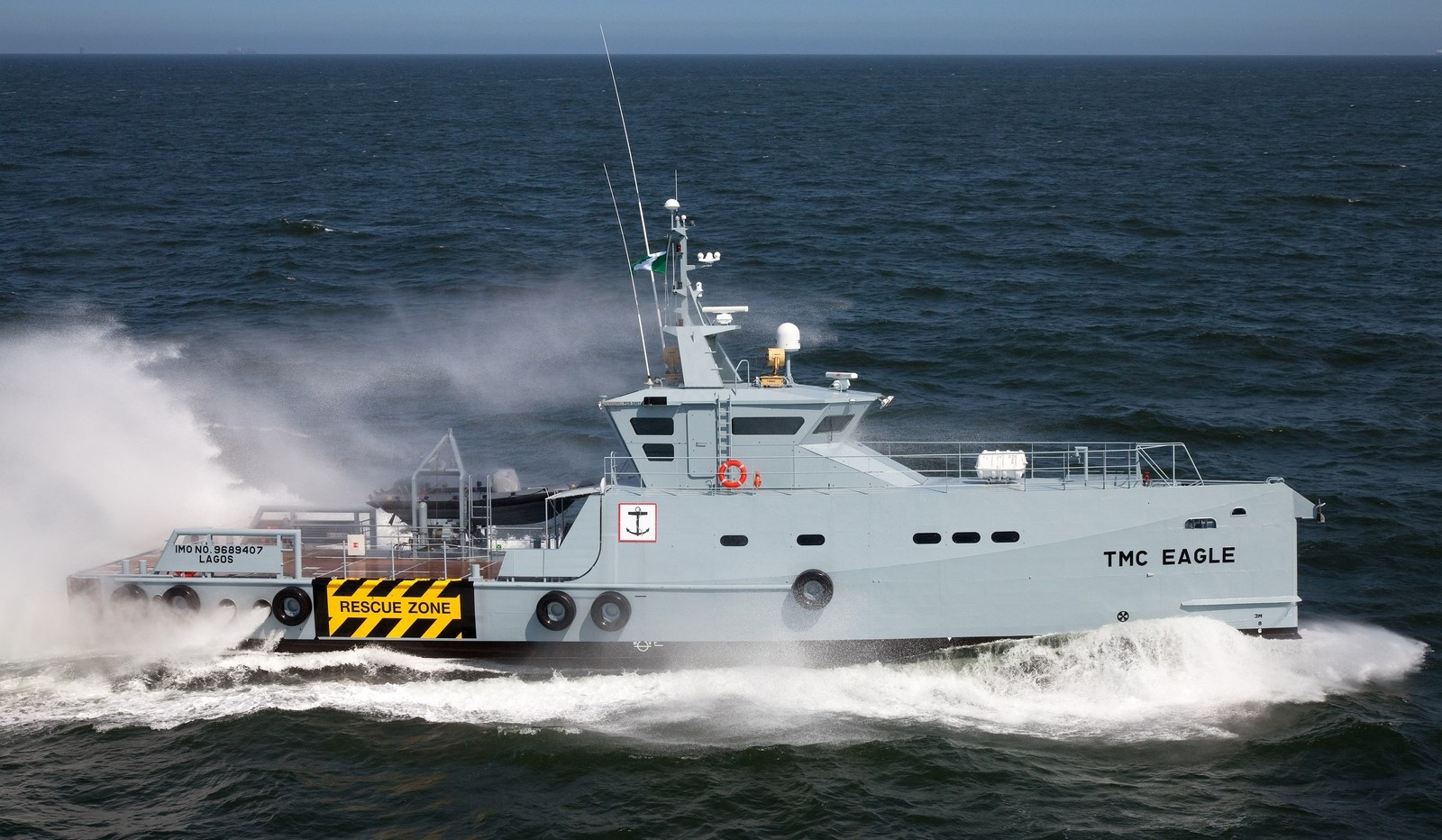 Security Crew Supply Vessel 3307 for maritime safety duties