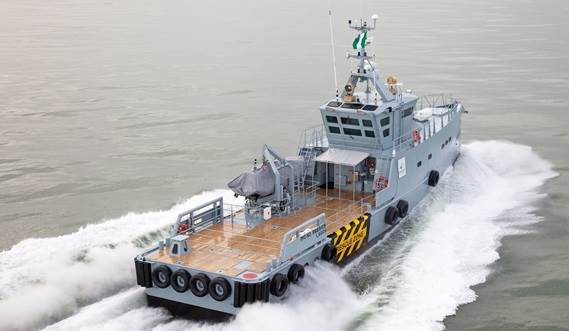 Homeland Integrated Offshore Services Limited (HIOSL) has taken delivery of a Damen FCS 3307 Patrol