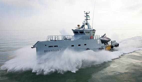 HOMELAND INTEGRATED OFFSHORE SERVICES TAKES DELIVERY OF A DAMEN FCS 3307 PATROL