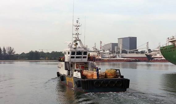 a Damen Fast Crew Supplier 3307 the 'SVS Teach' was delivered to Specialised Vessel Services in Kenya