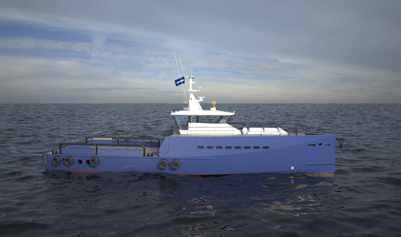 fast crew supplier 3307 mk2 - damen shipyards