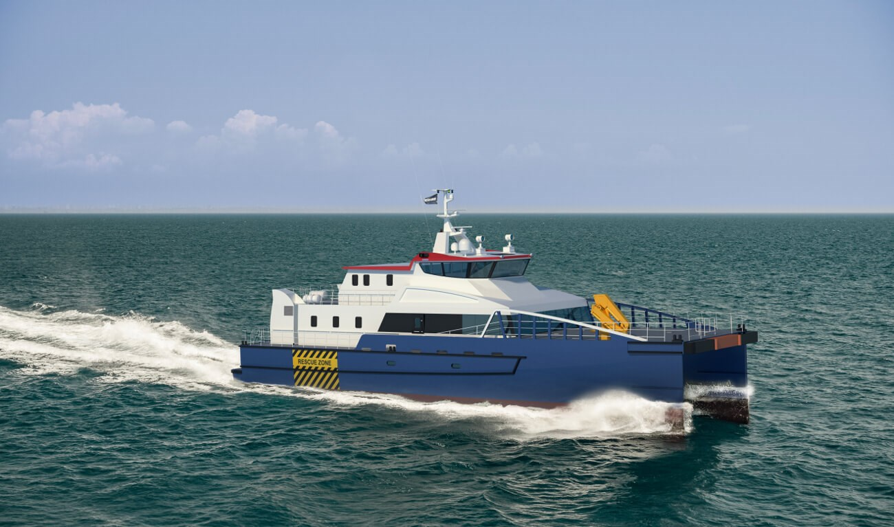 Damen FCS 3410 offers excellent seakeeping and fuel efficiency
