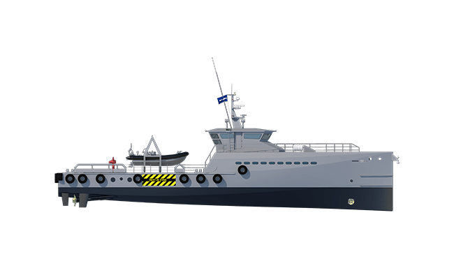 Damen Fast Crew Supplier 4008 Security