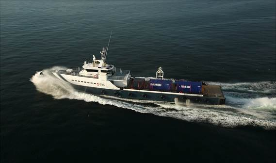 Damen Fast Crew Supplier 5009, 'SVS Cochrane', was delivered to Specialised Vessel Services in Kenya