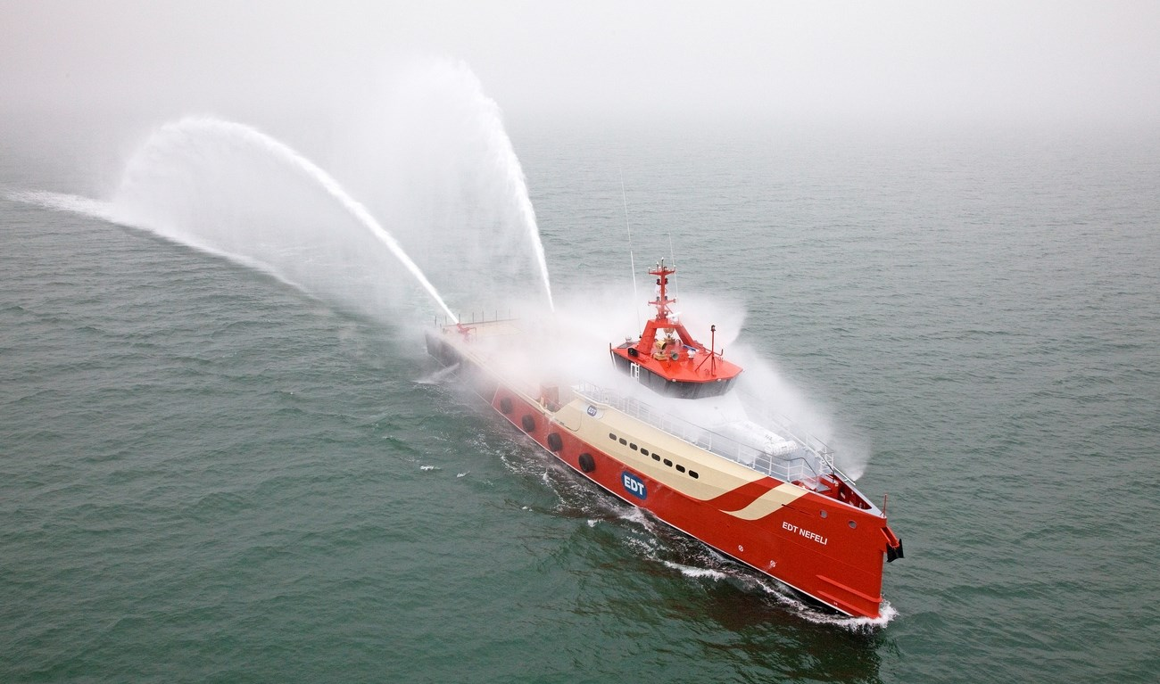 EDT Offshore (Cyprus) took delivery of Damen Fast Crew Supplier 5009 the ´EDT Nefeli´