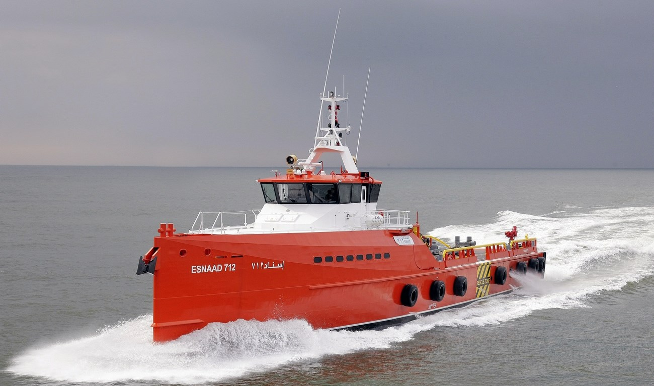 Damen Fast Crew Suppliers 5009 to Abu Dhabi National Oil Company in January 2011