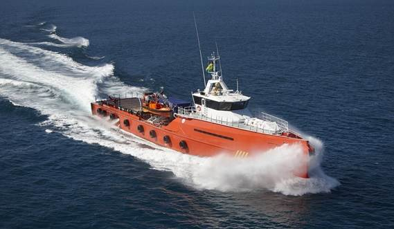 P&O Repasa takes delivery of Damen FCS 5009 'Red Eagle'