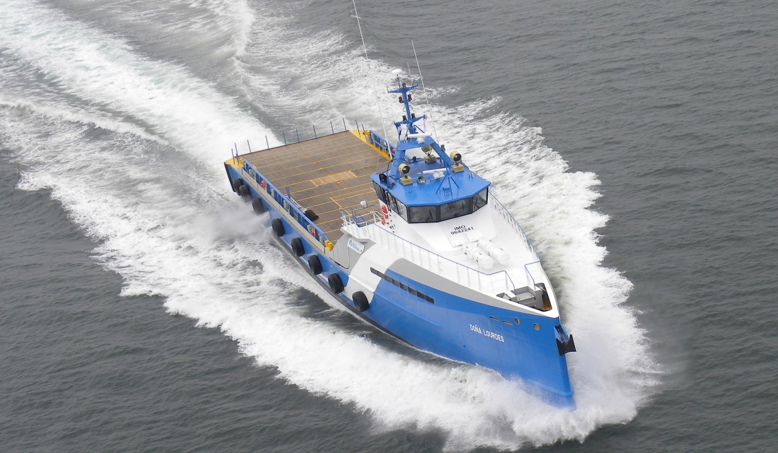 50 m Fast Crew Boat 5009 for transporting crew