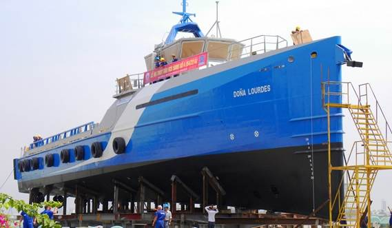 Naviera Integral, signed a contract for two Damen Fast Crew Suppliers 5009