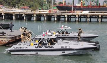 The National Air and Naval Service of Panama has taken delivery of four Interceptor 1102 vessels from Damen Shipyards Group