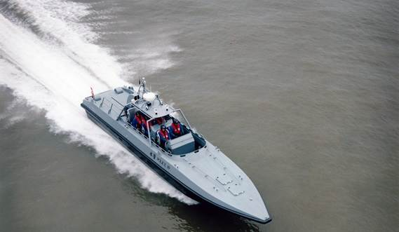 This ultra-fast vessel is the best choice for anti-smuggling or anti-terrorist activities