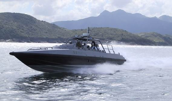 The Damen Interceptor is designed for ultra high-speed patrol duties in all waters