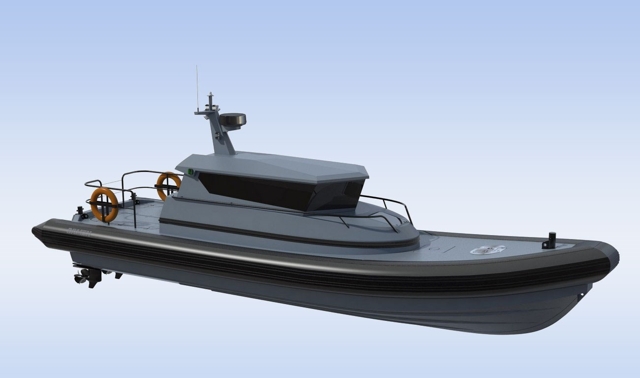 DESIGNED FOR HIGH-SPEED PATROL DUTIES IN ALL WATERS