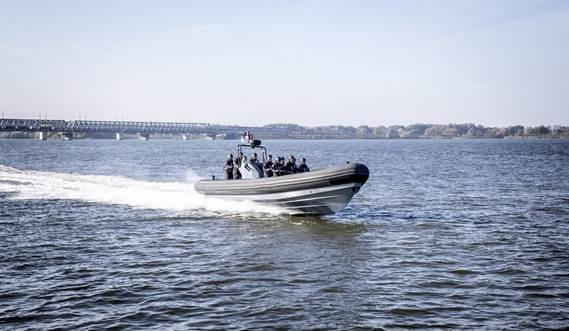 The RHIB 1050 was developed at Damen Shipyards Hardinxveld