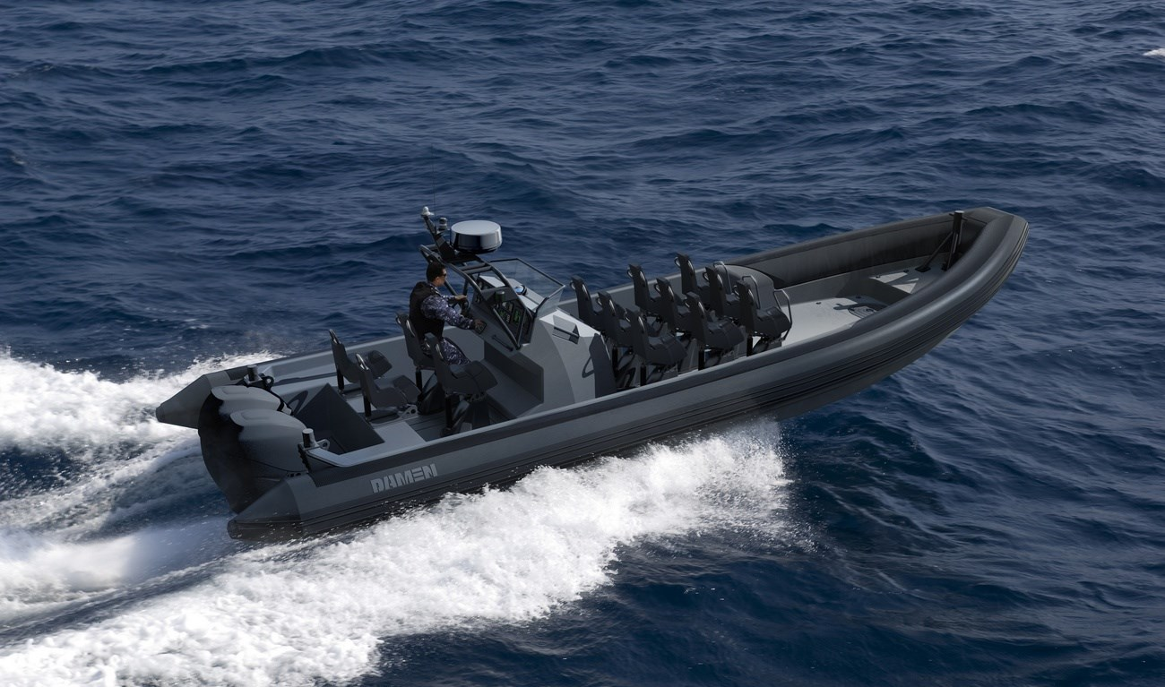 Especially designed for high-speed patrol duties in all waters.