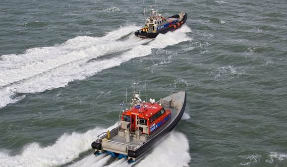 Speed, range, efficiency, seaworthiness and safety were improved in search and rescue vessel