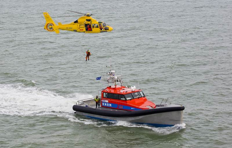 The vessel is used for search and rescue operations, fast response and for security and patrol.