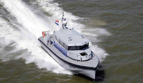 these vessels are primarily used for military duties, they are built to commercial specifications and standards