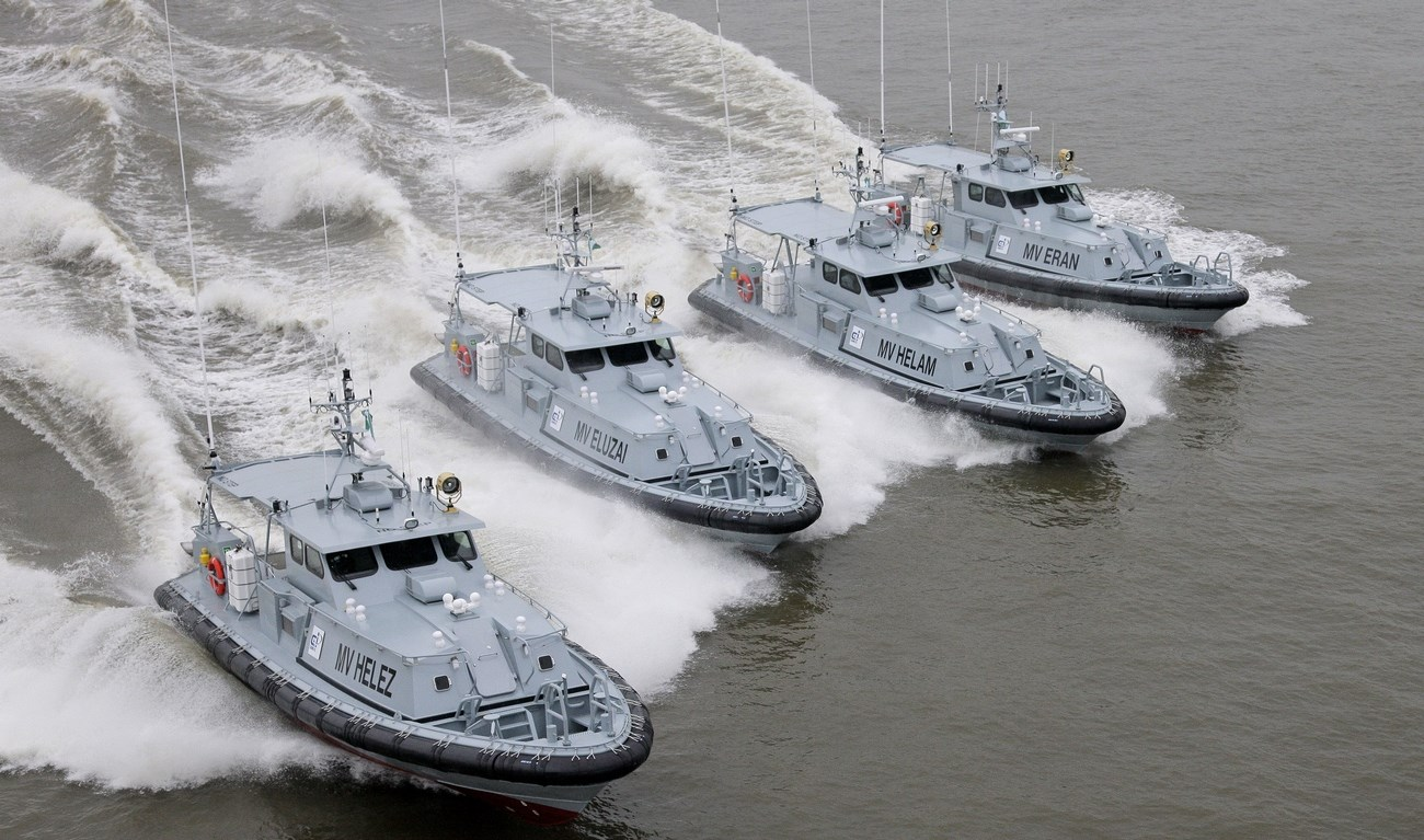 C&I Leasing Plc has taken delivery of four Damen SPa 1605 ballistic protected security patrol vessels.