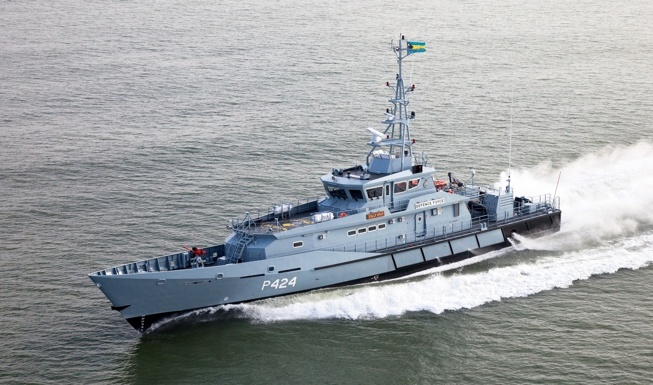 The Royal Bahamas Defence Force (RBDF) has taken delivery of the fourth and final Stan Patrol 4207