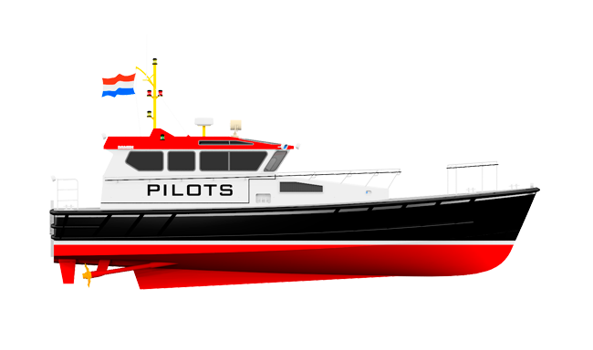 This boat has been developed purely for pilotage - it is a no-compromise design