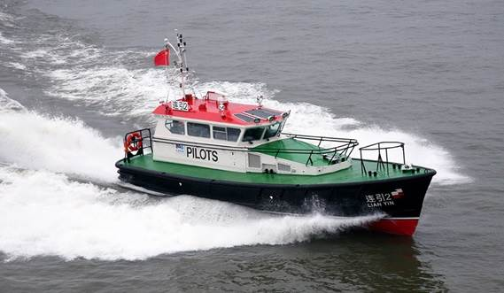 Damen has made sure this service vessel is completely optimised for pilotage in harbours and coastal waters