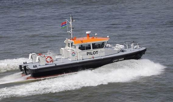 The 'Lady Zineb' is the tenth vessel to be built by Damen for our valued client GPA