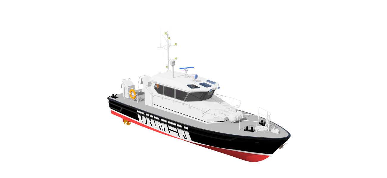 Professional equipment and proven systems ensure the reliable operation of this vessel
