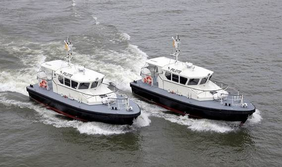 Two Damen Stan Tenders 1505, 'Gnatroa' and Diaihy', were delivered to the Port Autonome d'Abidjan