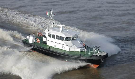 The Tanzania Ports Authority took delivery of its new Damen Stan Tender 1905, 'Papa'