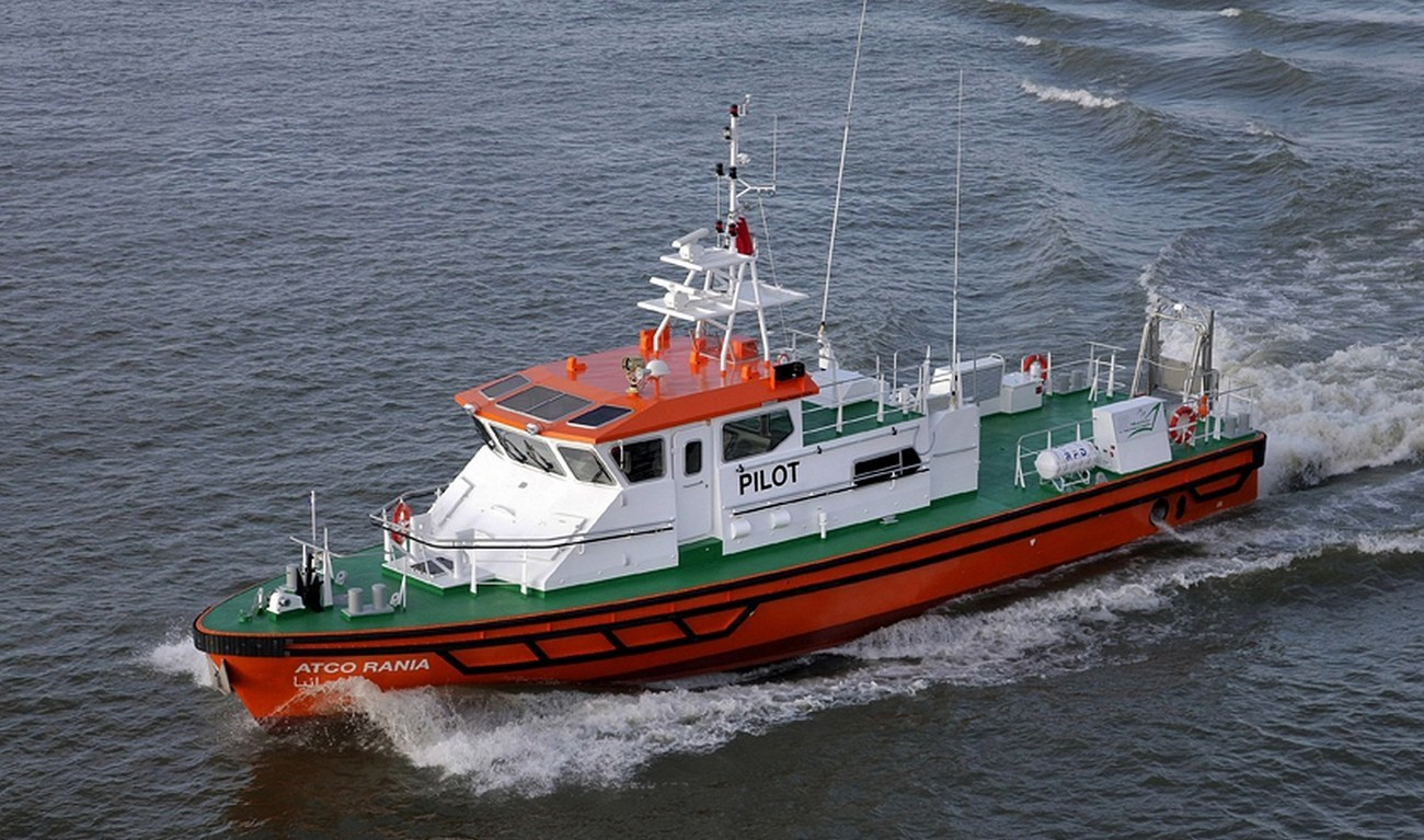 A HIGH-SPEED, MULTI-PURPOSE CRAFT FOR ALL TYPES OF HARBOUR SERVICES