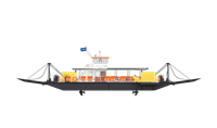 Damen Modular Ferry is reliable, safe and fast transportation