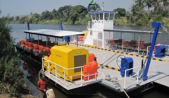 The units are called Damen Modular Barges and can be coupled together in the water with the specially designed coupling system