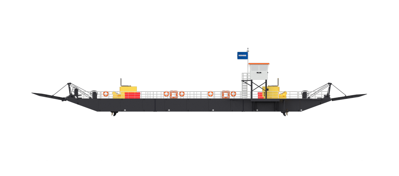 The fit for purpose design of Modular Ferry allows safe and sustainable crossings, forging local connections and developing infrastructure