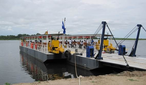 The ferry modules are interconnected using Damen's unique, class-approved coupling system, called the 'Damen Link'