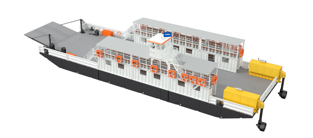 Damen Modular Ferry for developing infrastructure