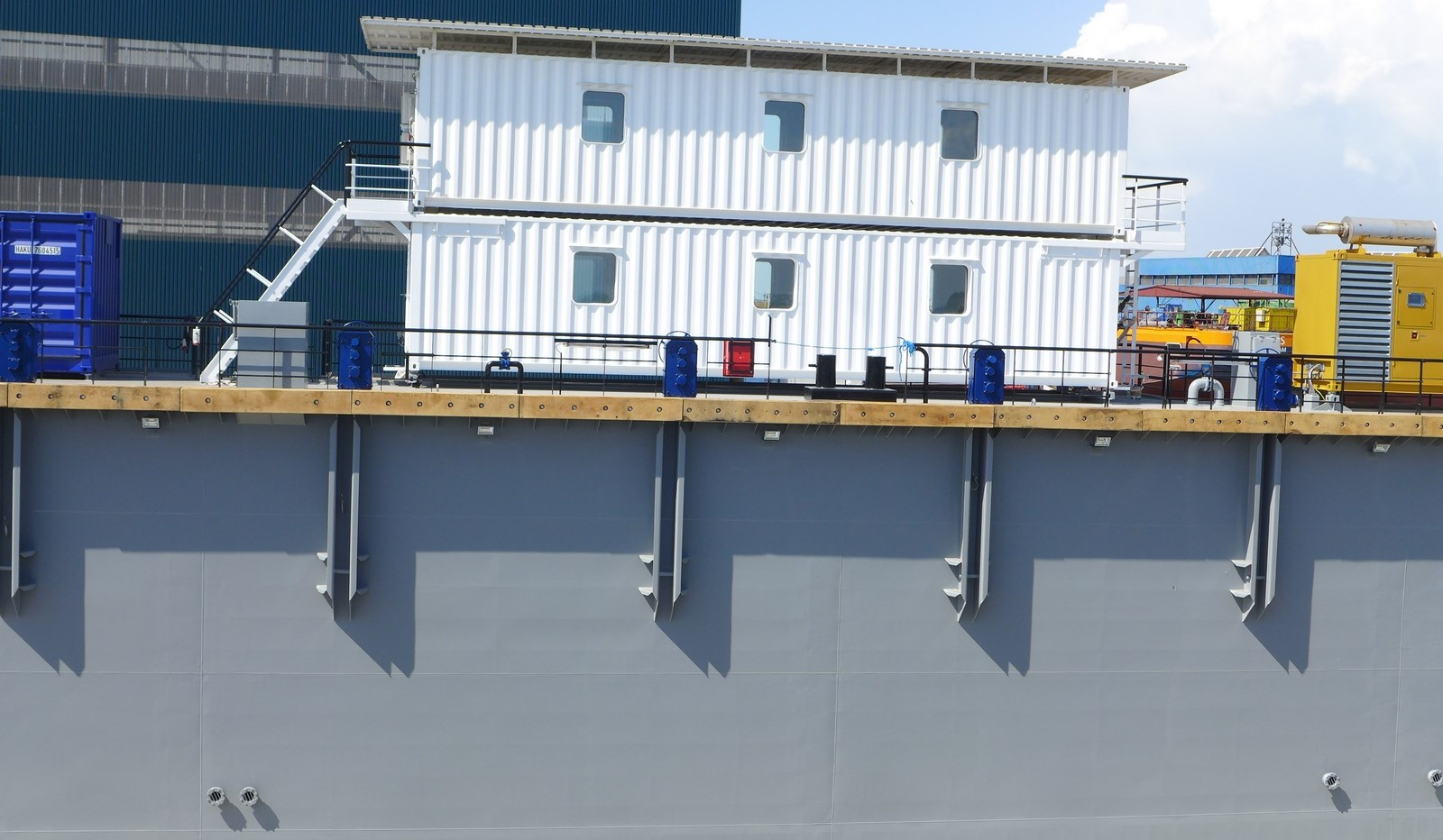 Modular Floating Drydock 11026 is for vessels up to 5 000